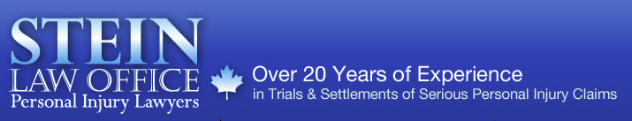 Stein Law Office - Over 20 Years of Experience in Trials, & Sttlementsof Serious Personal Injury Claims